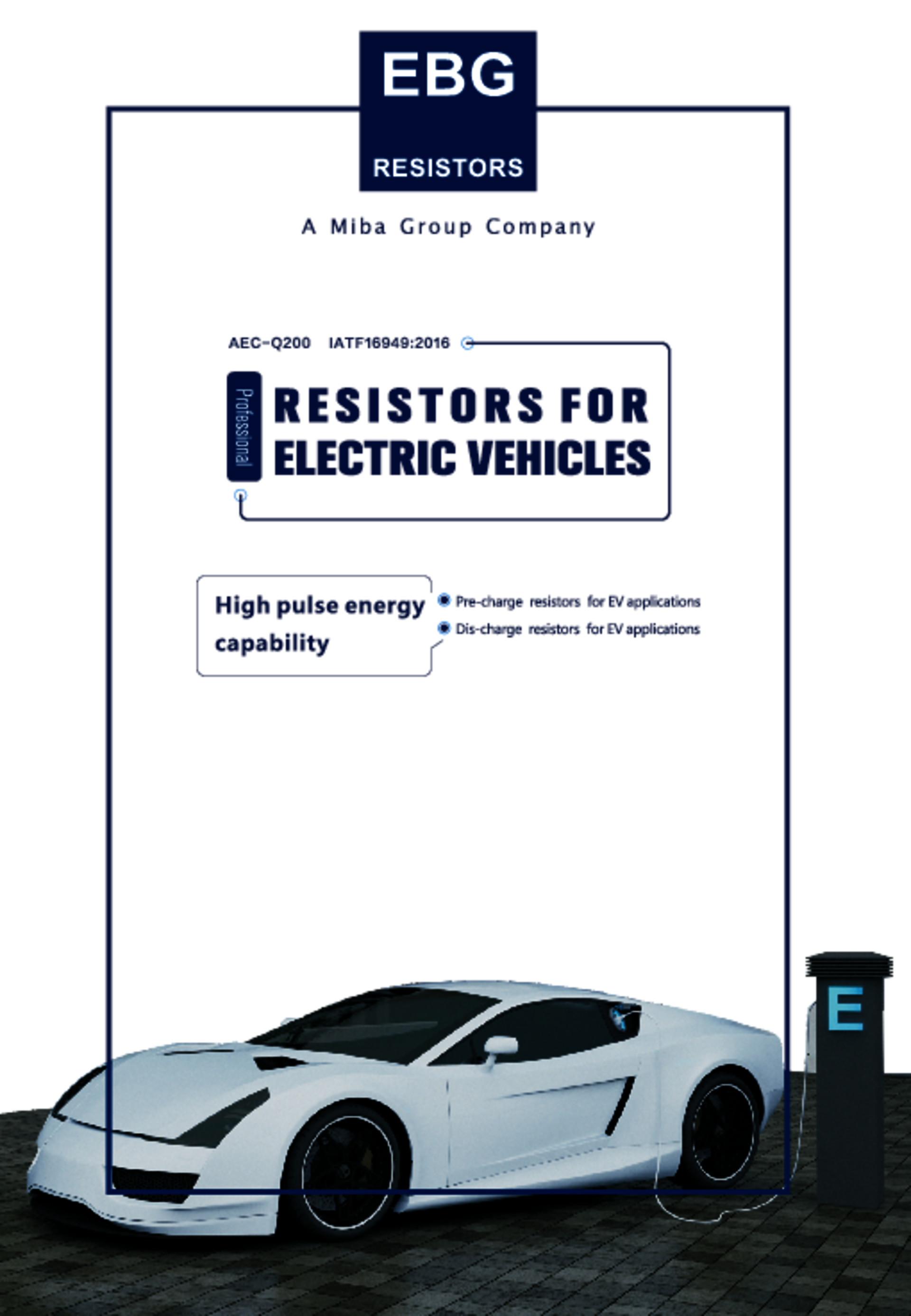 EBG Resistors EV catalog