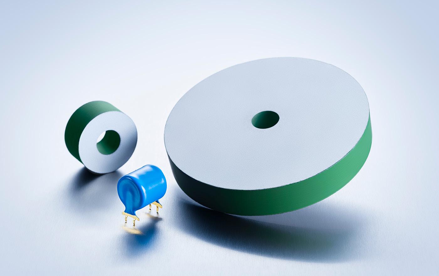 Image shows EBG Carbon Disc Resistor parts